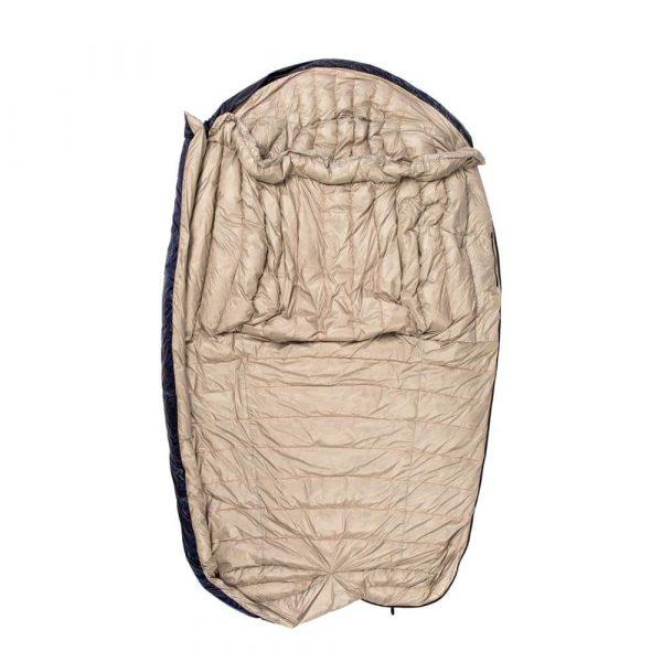 Пуховий спальний мішок ковдра фото