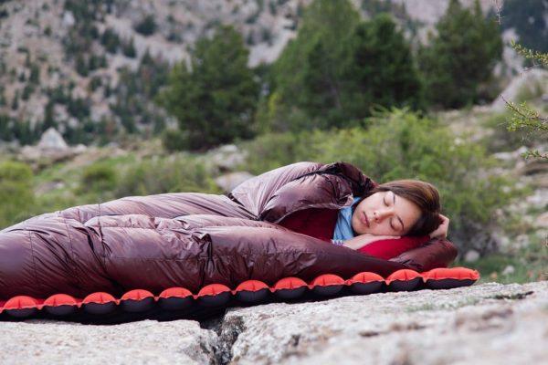 Теплий пуховий спальник ROCK FRONT фото