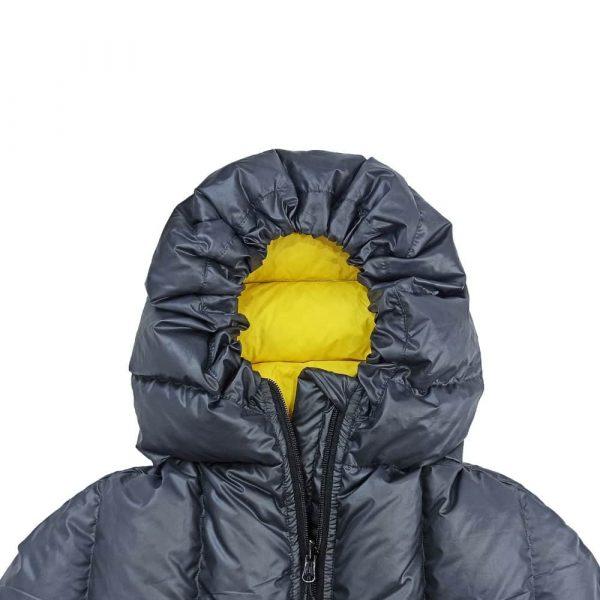 Пуховий дитячий спальник ROCK FRONT Junior Lite капюшон фото